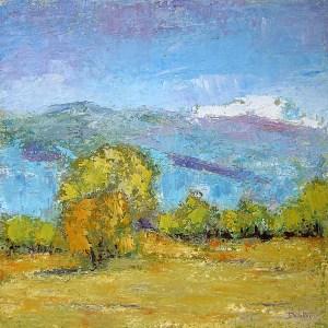 La Flachère - oil on canvas - 70x70cm