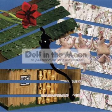 Collage 25 – série de Noël n°2 (et dernier)