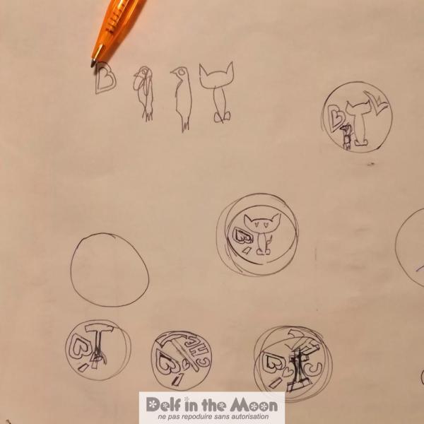 des essais du dessins
