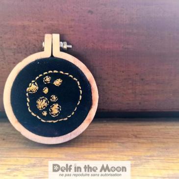 Broche Lune
