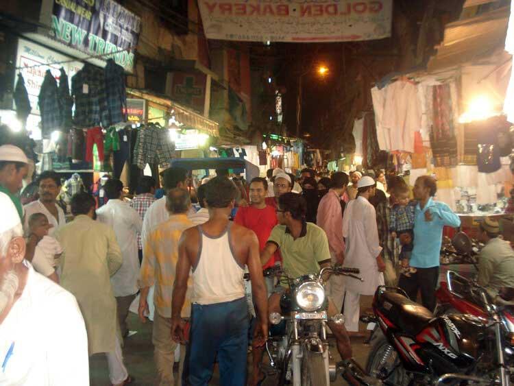 Jama-Maszid-Ramzaan-Market