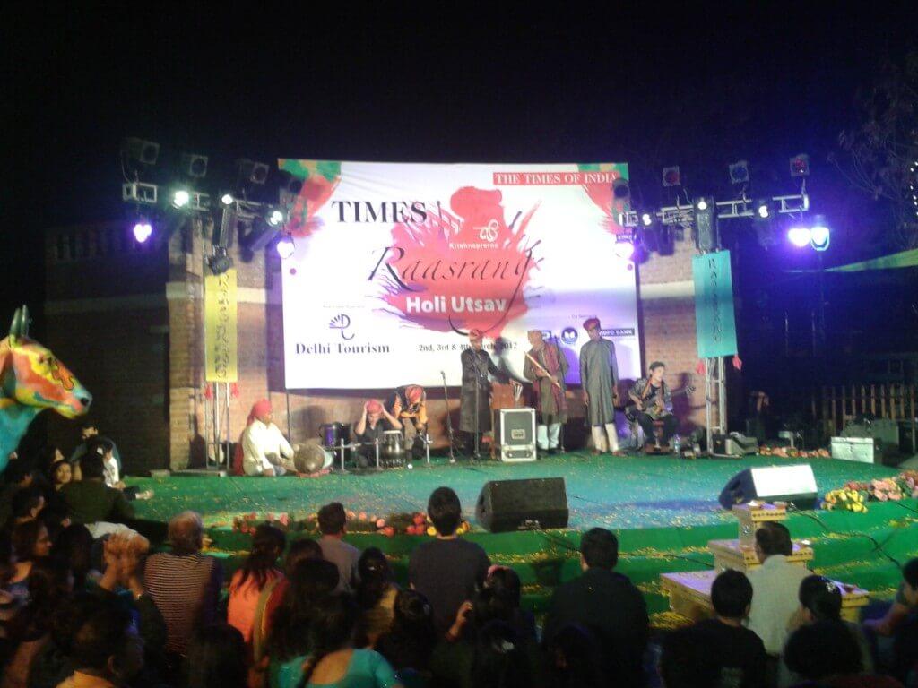 Raasrang Holi Festival