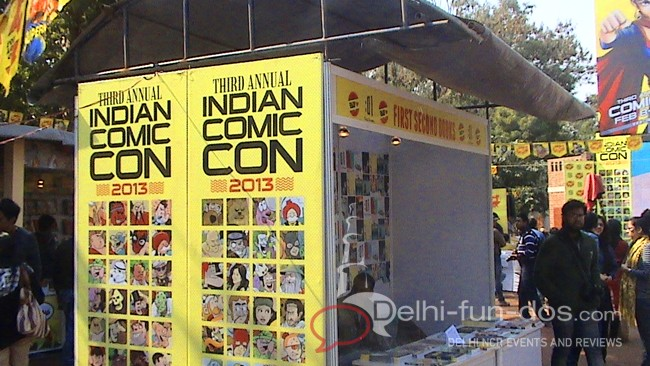 3rd Annual Indian Comic Con – 2013