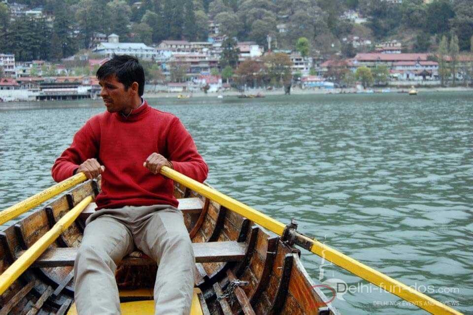 boat ride - nainital