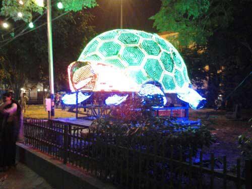 Giant Turtle @ Arambagh Durga Puja