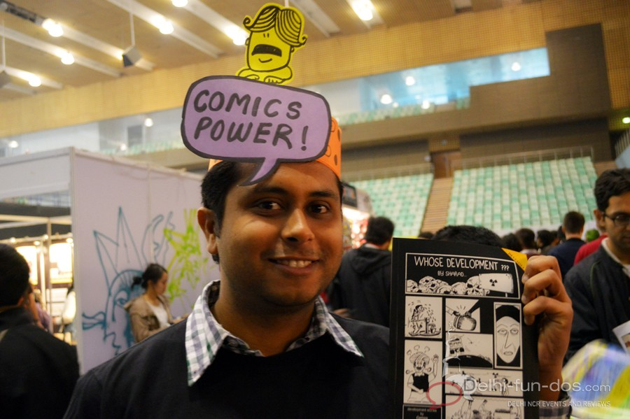 The Annual Indian Comic Con 2014