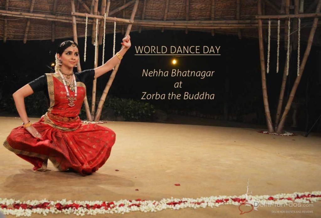 World Dance Day – Bharatnatyam by Nehha Bhatnagar