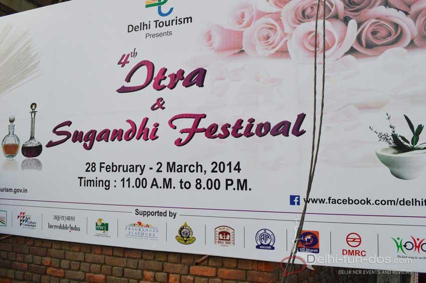 4th Itra & Sugandhi Festival 2014