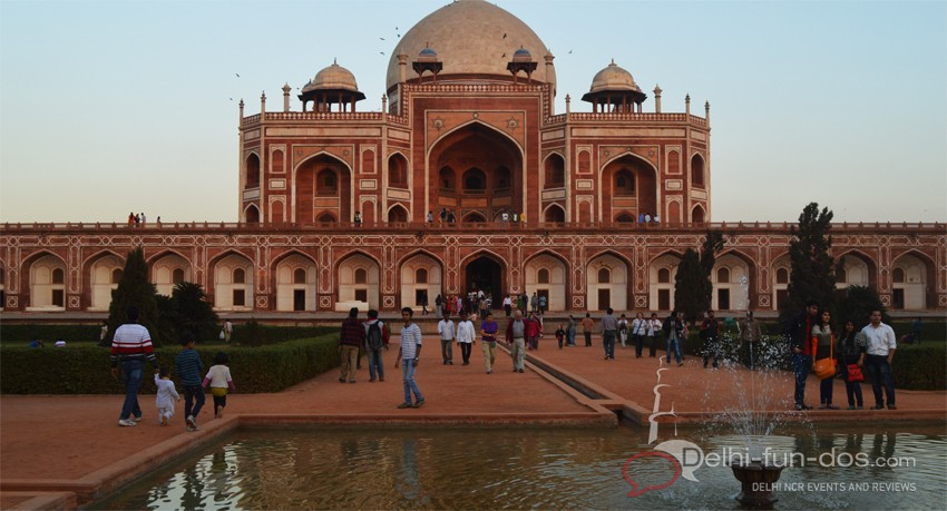 Things to do in Delhi Winter – Humayun's Tomb
