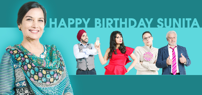 Happy Birthday Sunita – Delhi get's to see Shabana Azmi live on stage