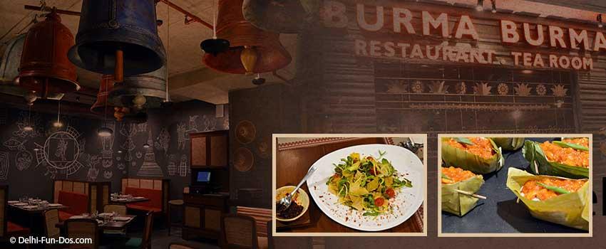 Burma Burma – Vegetarian Burmese Restaurant in Gurgaon