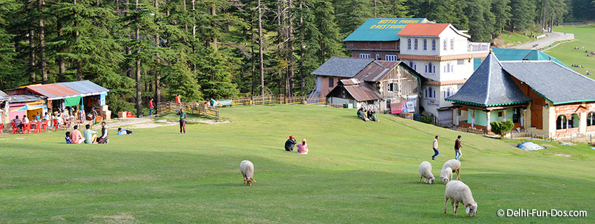 Khajjiar near Dalhousie – Heaven on earth