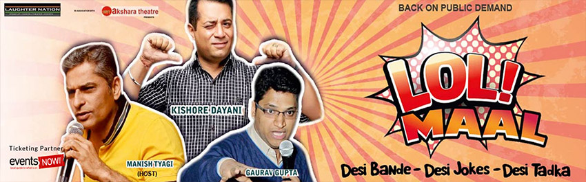 Lolmaal – Standup comedy show in Delhi