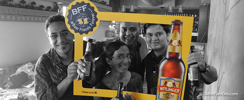 "Witlinger's Friendship Day ""BFF – Beer Friends Forever"""