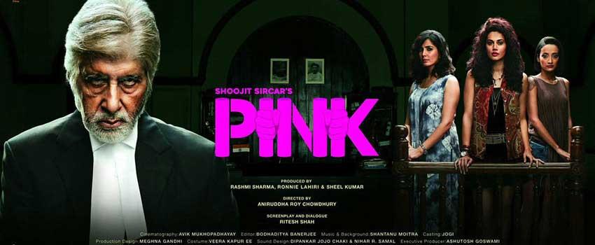 PINK – film by Anirudhha Chowdhury / Soojit Sarkar