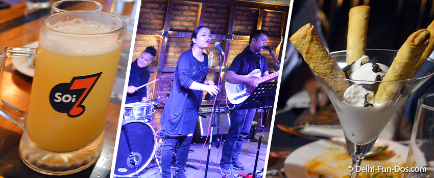Soi 7 – Good food, drinks and live music