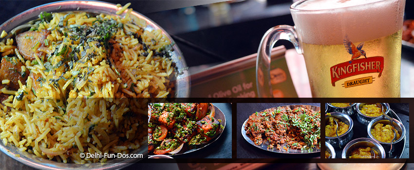 Beeryani – Swig n chomp on Beer & Biryani