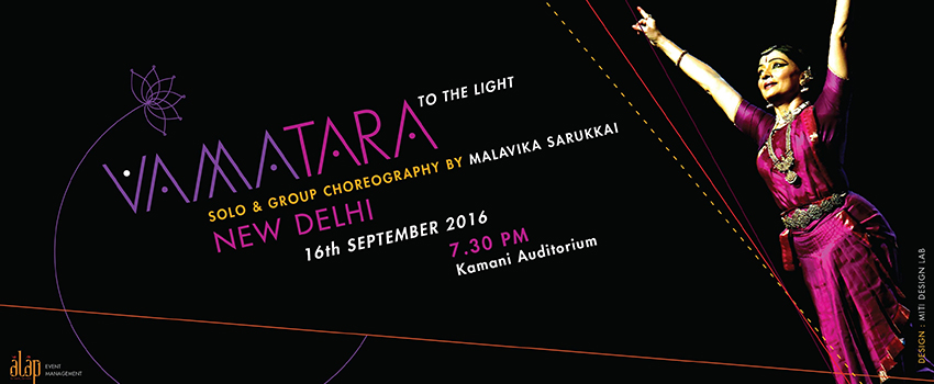 Vamatara-To the Light/Bharatnatyam by Malavika Sarukkai & troupe