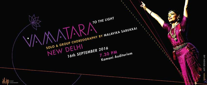 Vamatara-To the Light/Bharatnatyam by Malavika Sarukkai & troupe