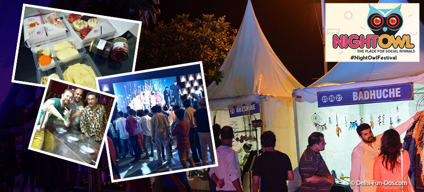 Keep flying: The Night Owl – Shopping festival at DLF Place Saket
