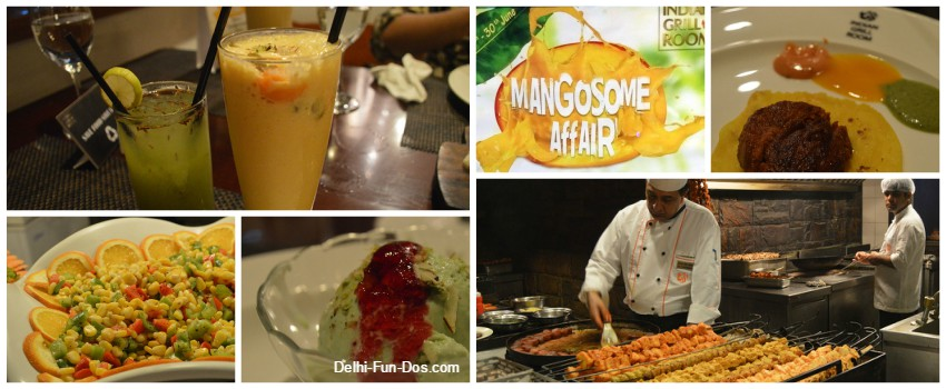 Mangosome Affair at Indian Grill Room