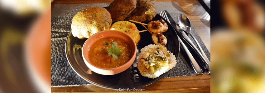 Vrat menu at Punjab Grill Tappa