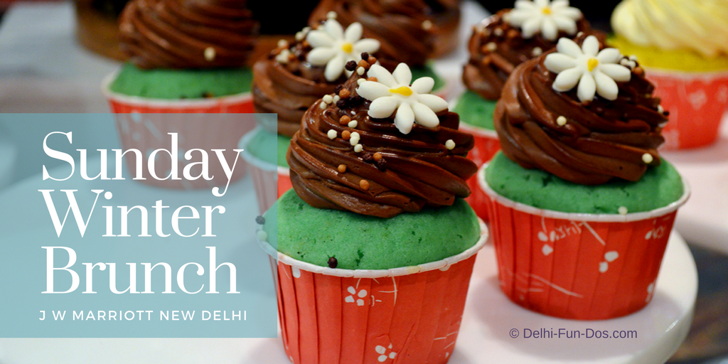 Sunday Winter Brunch at K3, J W Marriott, Aerocity Delhi