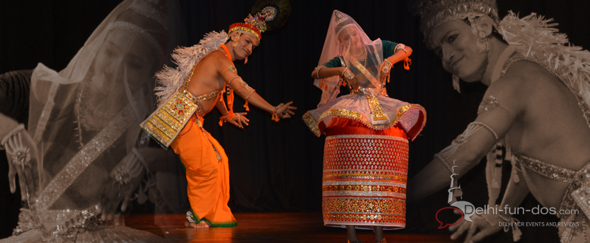 Manipuri dance recital – Sovanabrata Sarkar & Nutan Sovan Sarkar