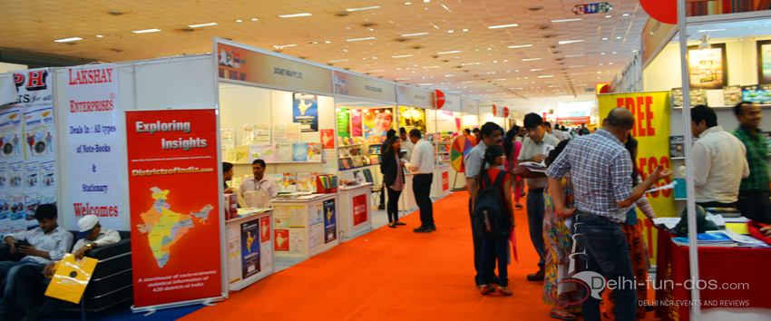 What makes Delhi Book Fair 2015 a fun do…