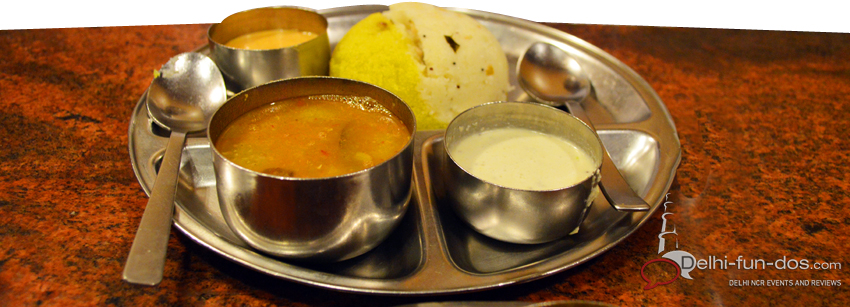 Karnataka Food Centre: Pocket friendly South Indian Food option in Delhi