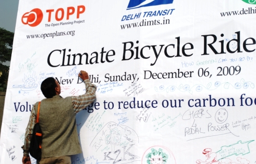 Invite: Sunday Climate Bicycle Ride