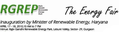 Invitation to Energy Fair 2010 in Leisure Valley, Gurgaon