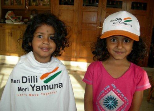 Meri Dilli Meri Yamuna volunteers