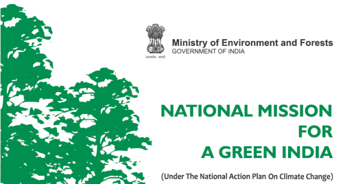 National Mission for Green India Draft Submitted to PM's Council on Climate Change