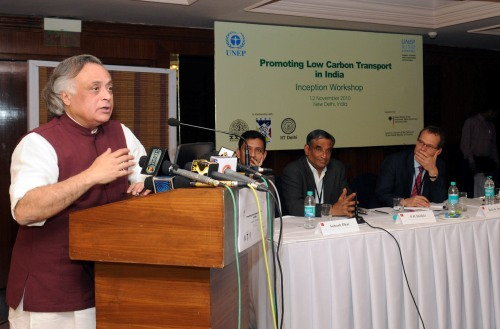 Jairam Ramesh at the Low carbon economy conference
