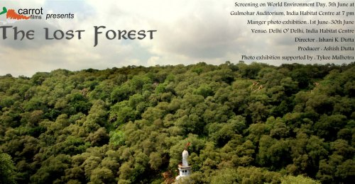 Invite to the Screening of The Lost Forest of Mangarbani at IHC