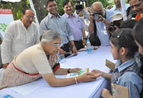 CM Sheila Dixit fortunatley has a green agenda