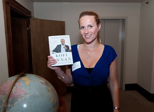 Kofi Annan on 5 Day 'Environmental Mission' Visit to India