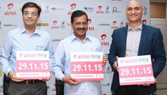 Konica Minolta at Airtel Delhi Half Marathon to Support Underprivileged Children