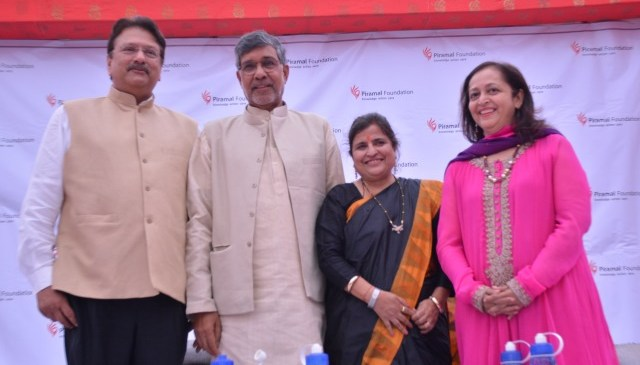 Piramal Foundation Hosts Kailash Satyarthi and Piyush Goyal