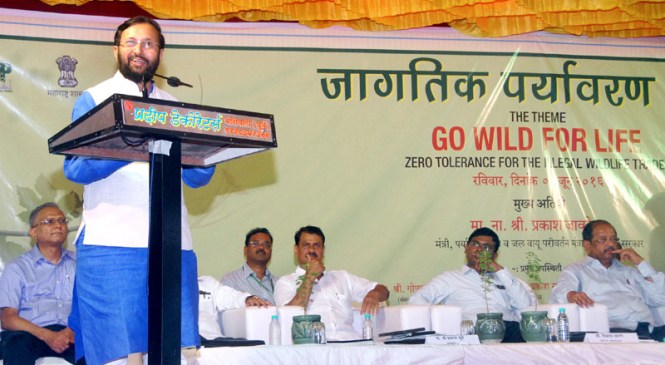Prakash Javadekar Urges Everyone to Go Wild for Life