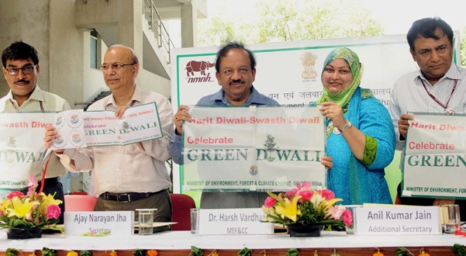 Poster Making Competition on Harit Diwali Swasth Diwali by MoEFCC