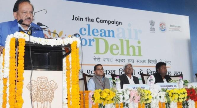 Two Week Long Clean Air Campaign Underway in Delhi