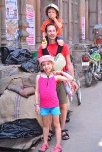 Family Photo shoot in Old Delhi