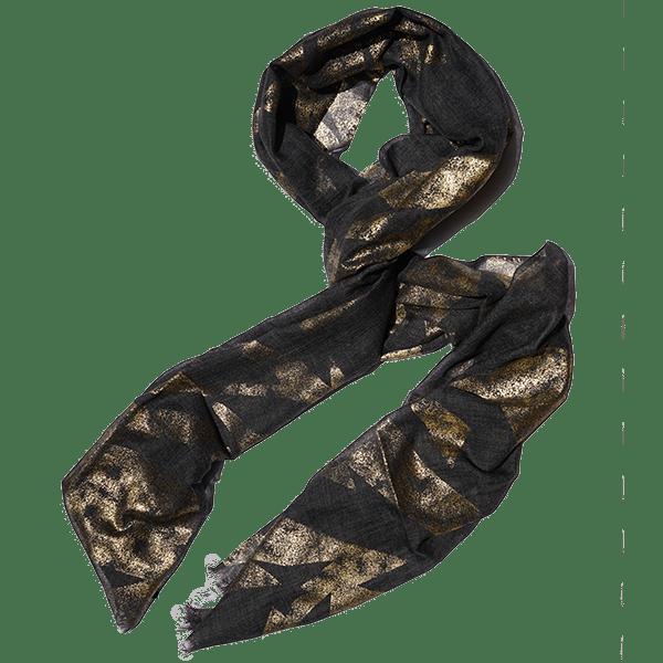 Scarf-Foilprint-grey-drape@600px