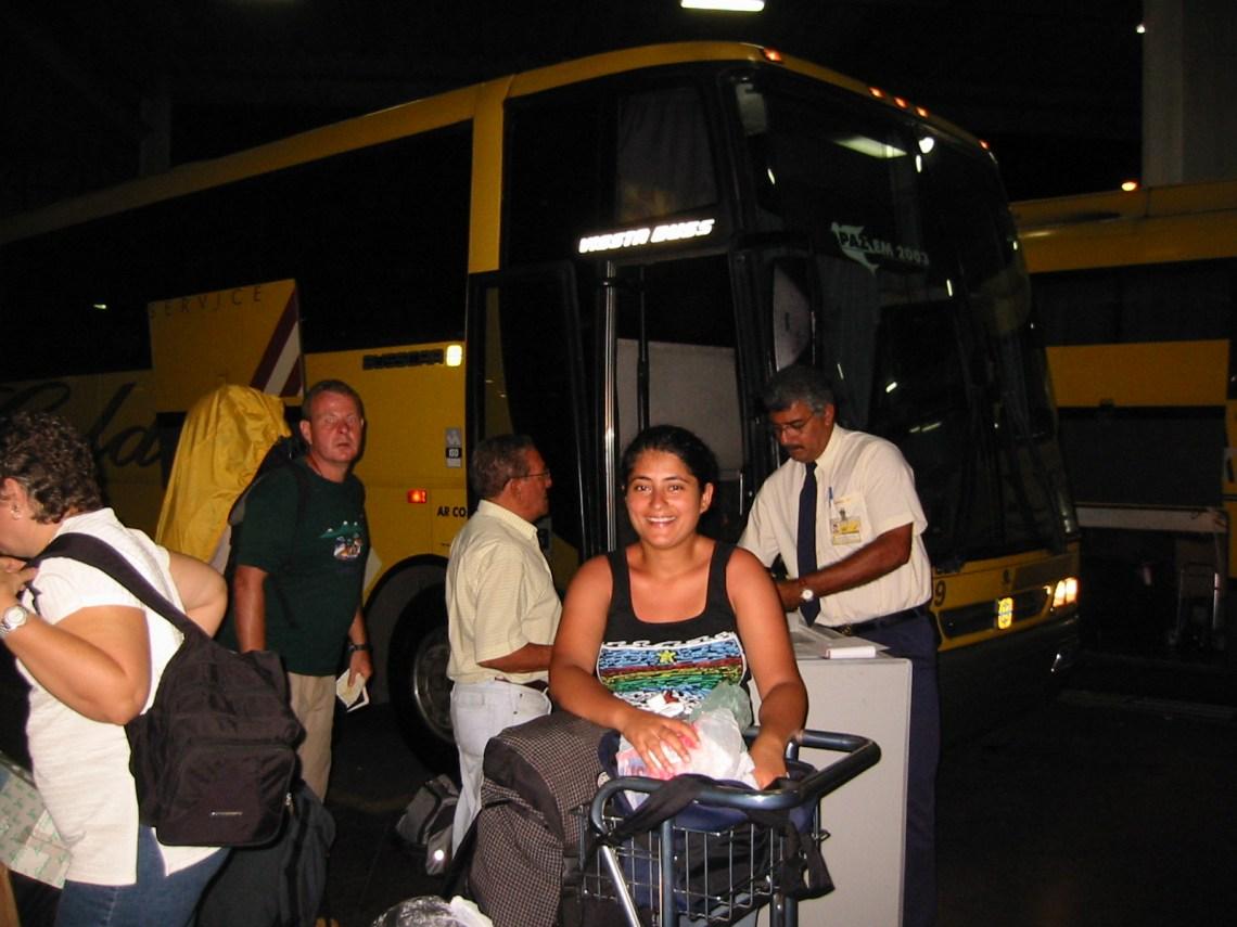 Bus to Salvador
