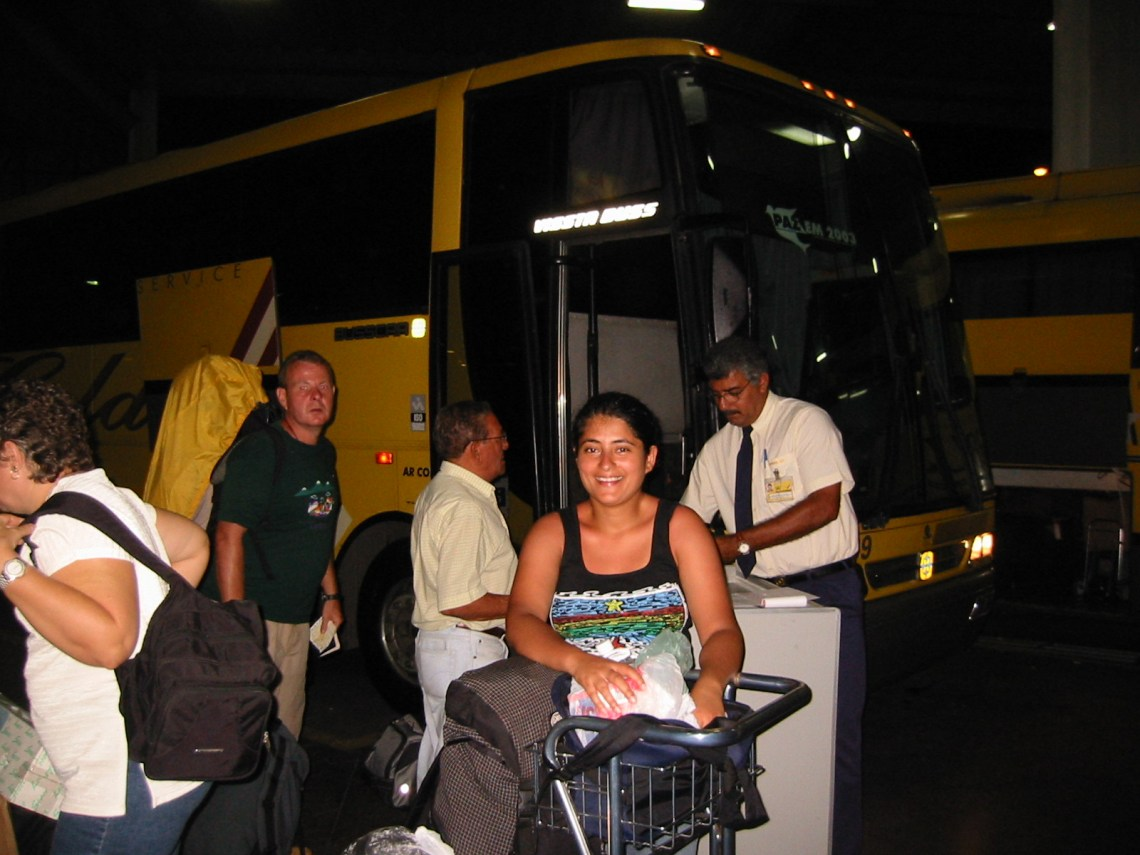 Bus to Salvador