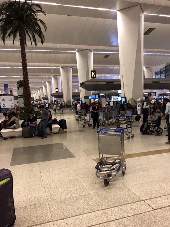 Delhi Airport Check-in Counters