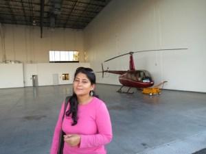 Ketaki and the chopper
