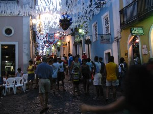 Pelurinho streets